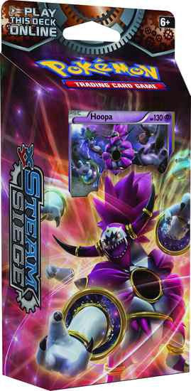 Pokemon TCG XY11 Steam Siege Theme Deck - Hoopa-Cherry Collectables