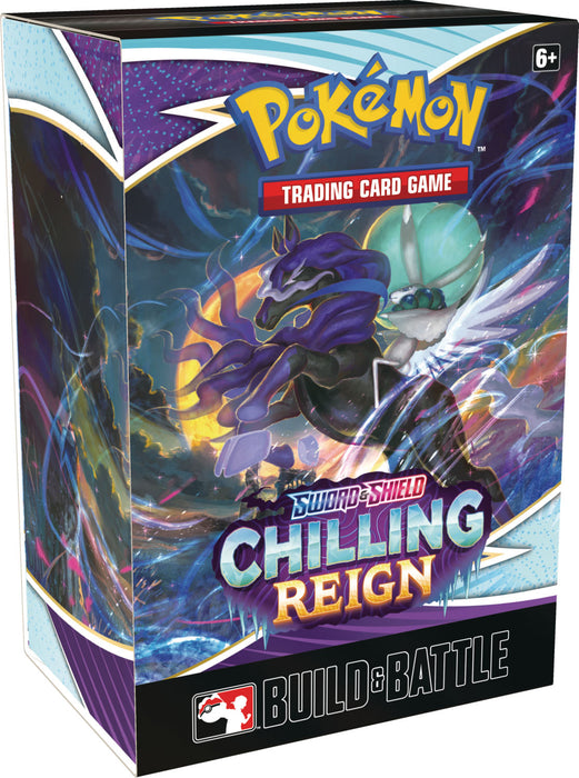 Pokemon TCG Sword and Shield Chilling Reign Build and Battle Box-Cherry Collectables
