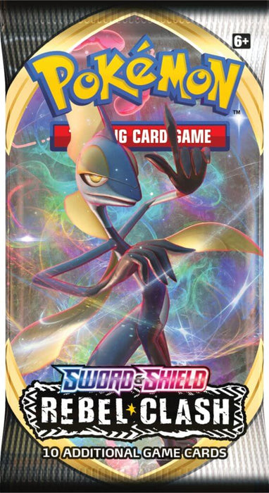 Pokemon TCG Sword and Shield Rebel Clash Booster Pack-Cherry Collectables