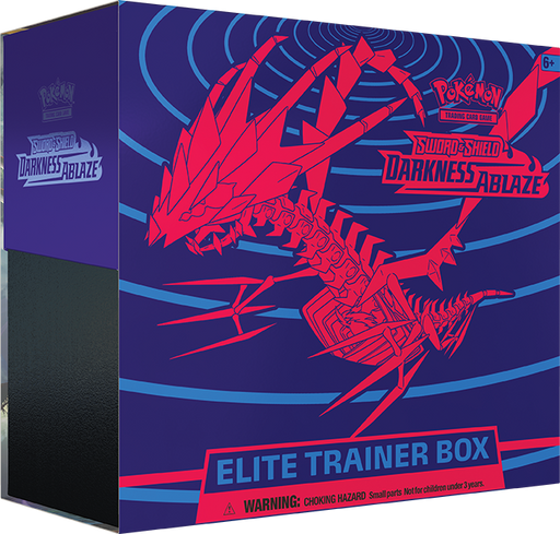 Pokemon TCG Sword and Shield Darkness Ablaze Elite Trainer Box (Pre Order Aug 14)-Cherry Collectables