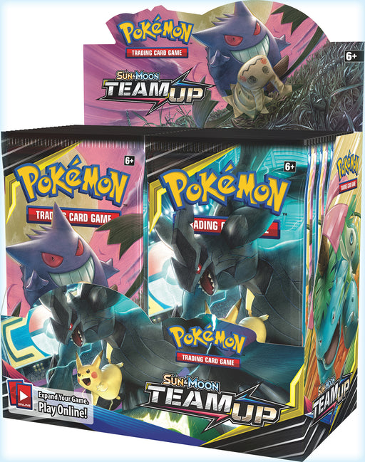 Pokemon TCG Sun & Moon Team Up Booster Box-Cherry Collectables