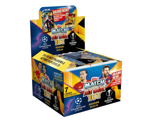 2019-20 Panini Match Attax 101 Season Hobby Box (Pre Order June)-Cherry Collectables