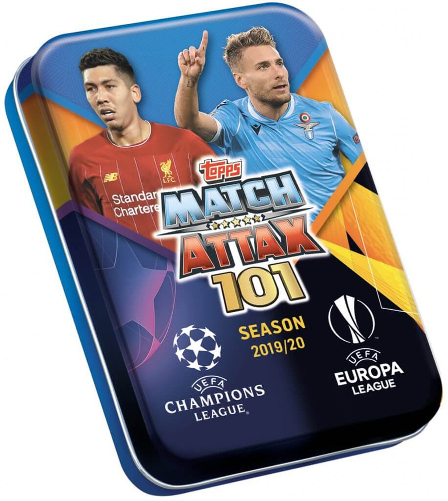 2019-20 Panini Match Attax 101 Season Mini Tin (Pre Order June)-Cherry Collectables