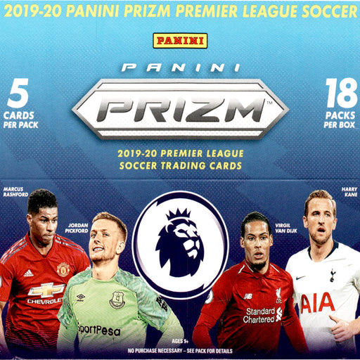 2019-20 Prizm Premier League Soccer Retail Breakaway Box-Cherry Collectables