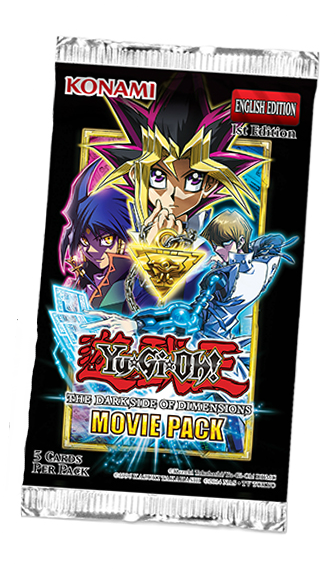 YU-GI-OH! TCG Movie Pack 2016 Booster Pack (Pre Order Oct 3)-Cherry Collectables