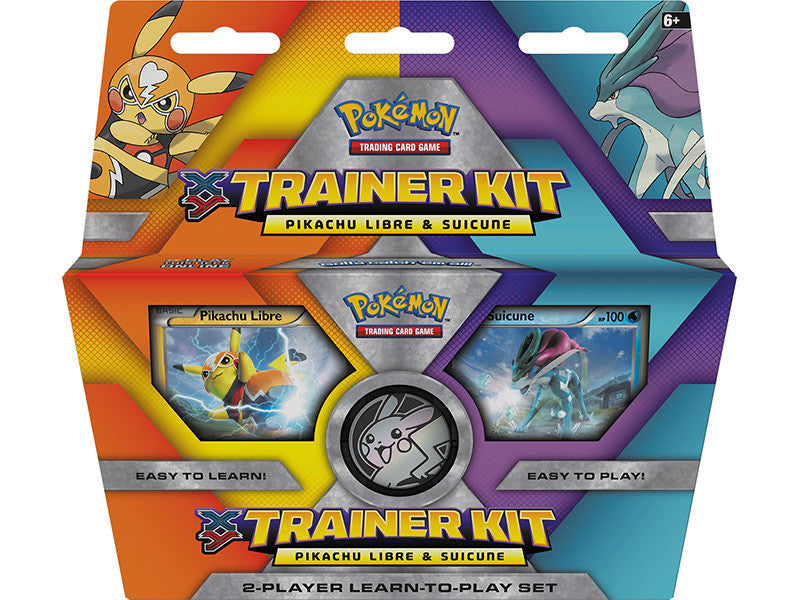 Pokemon XY Trainer Kit - Pikachu Libre and Suicune-Cherry Collectables