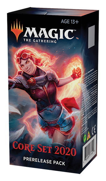Magic the Gathering Core Set 2020 Prerelease Pack-Cherry Collectables