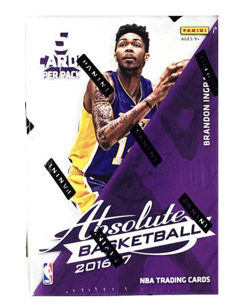 2016/17 Panini Absolute Basketball Hobby Pack-Cherry Collectables