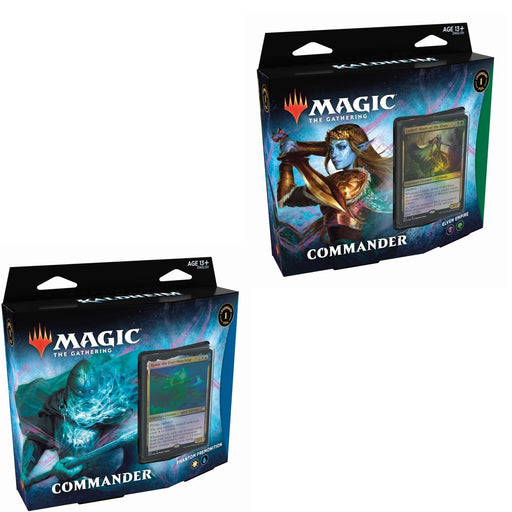 Magic the Gathering Kaldheim Commander 2-Deck Combo Elven Empire and Phantom Premonition (Pre Order Feb 5)-Cherry Collectables