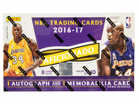 2016/17 Panini Aficionado Basketball Hobby Box-Cherry Collectables