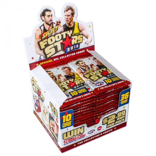 2019 Select AFL Footy Stars Hobby Box-Cherry Collectables