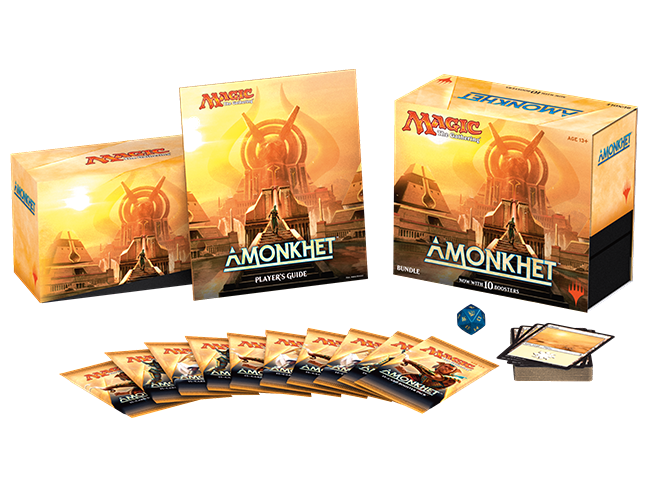 Magic the Gathering Amonkhet Bundle Box - Fat Pack-Cherry Collectables