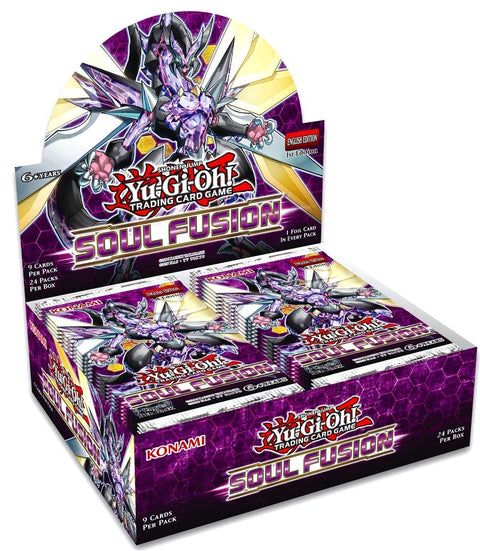 Yu-Gi-Oh! TCG Soul Fusion Booster Box (Pre Order OCT 18)-Cherry Collectables