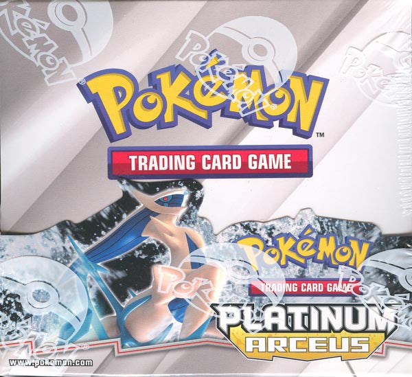 Pokemon Platinum Arceus Booster Box-Cherry Collectables