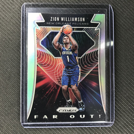 2019-20 Prizm ZION WILLIAMSON Far Out Rookie Silver Prizm #24-Cherry Collectables