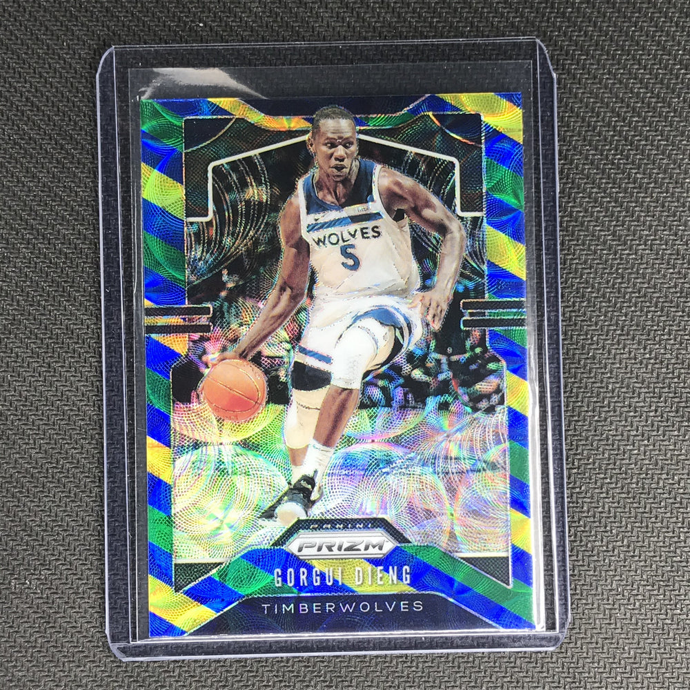 2019-20 Prizm GORGUI DIENG Blue Yellow Green Prizm #162-Cherry Collectables