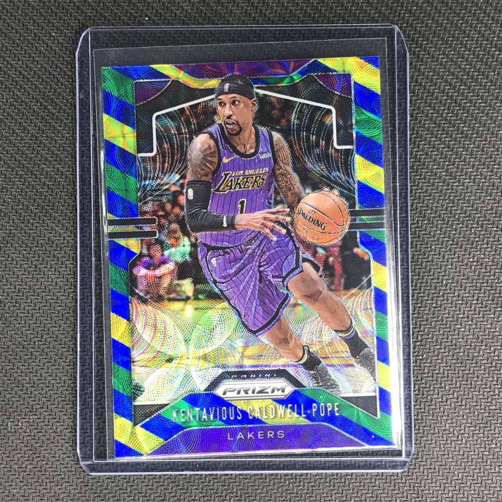 2019-20 Prizm KENTAVIOUS CALDWELL-POPE Blue Yellow Green Prizm #224-Cherry Collectables