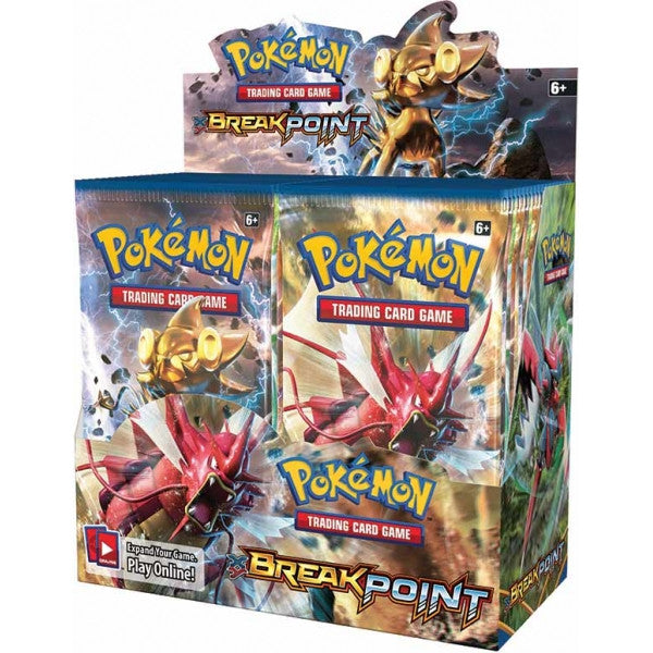 Pokemon XY BREAKPoint Booster 6-Box Case-Cherry Collectables