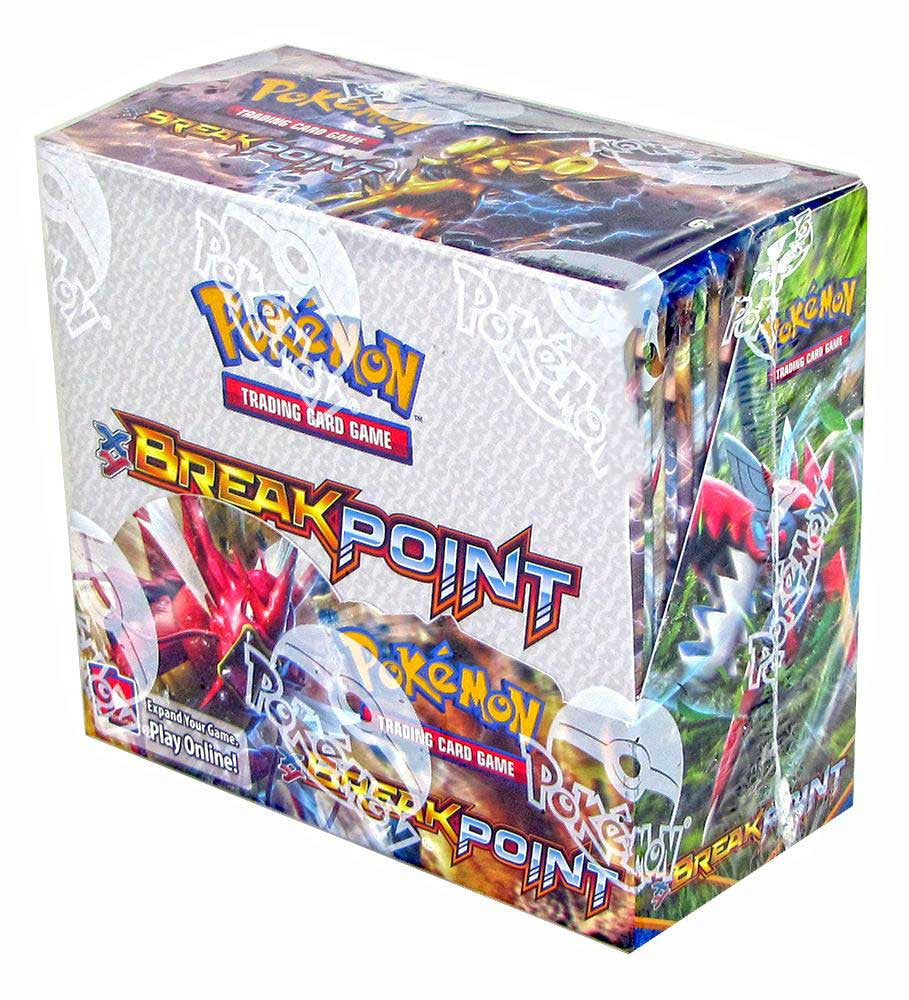 Pokemon XY BREAKPoint Booster Box-Cherry Collectables