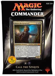 Magic the Gathering Commander Deck (2015) - Call the Spirits (White/Black)-Cherry Collectables