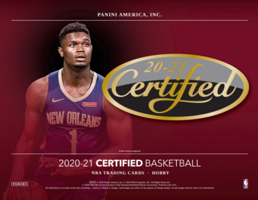 20-21 Panini Certified Basketball 3-Box Break #1719 (Win Hornets) - Team Based - Jan 27 (Night)-Cherry Collectables