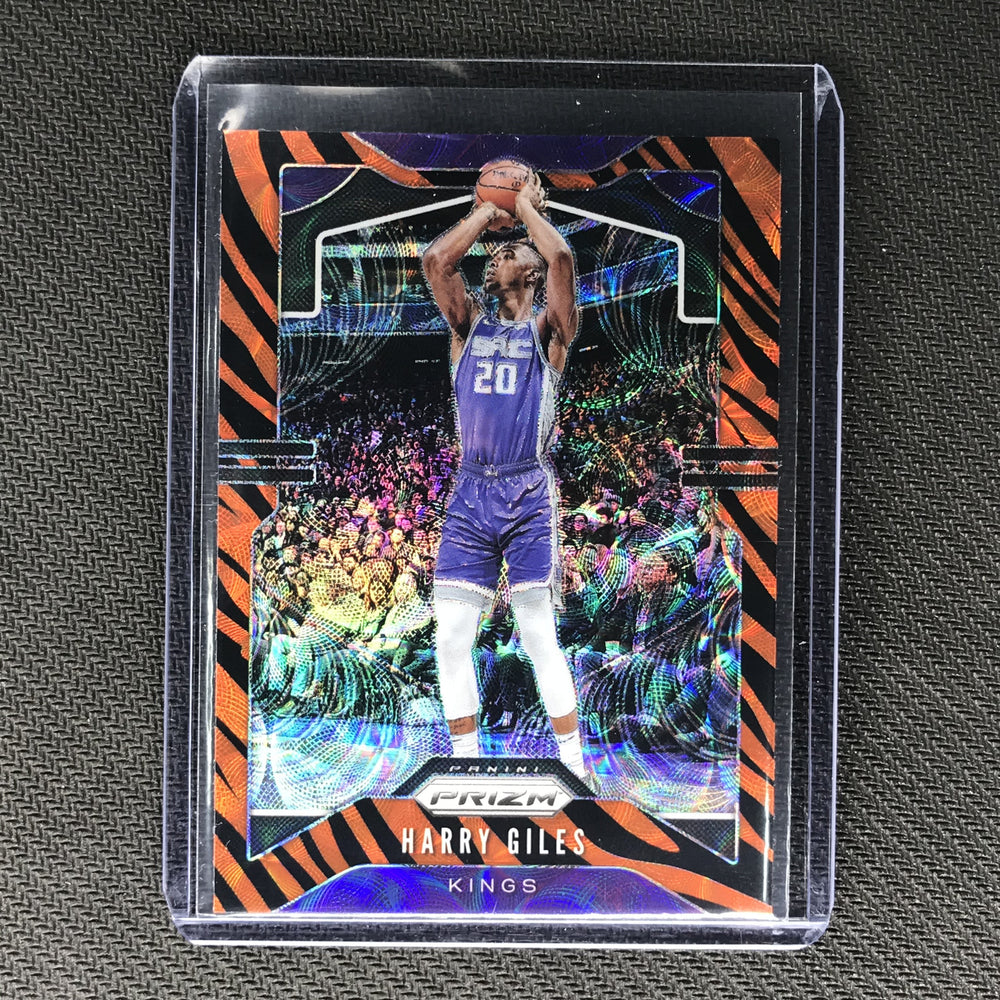 2019-20 Prizm Choice HARRY GILES Tiger Prizm SSP #128-Cherry Collectables