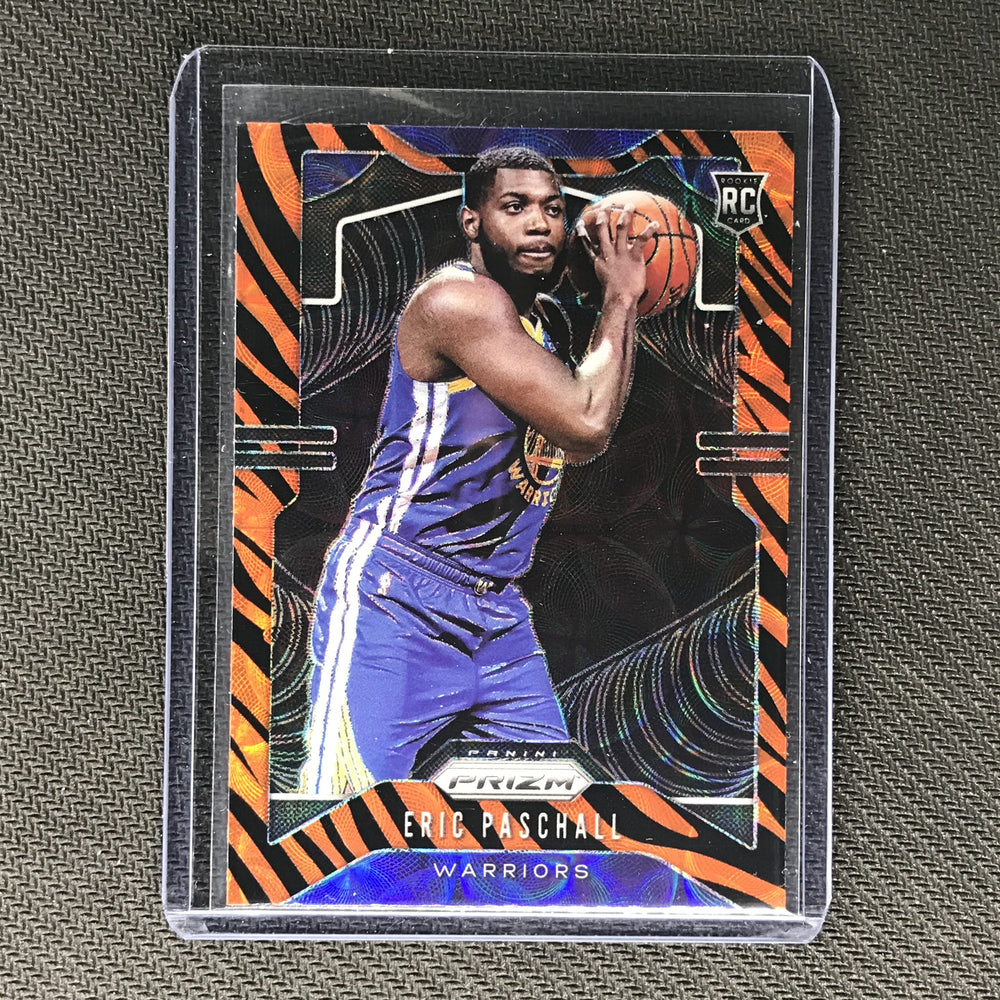 2019-20 Prizm Choice ERIC PASCHALL Tiger Prizm Rookie SSP #279-Cherry Collectables