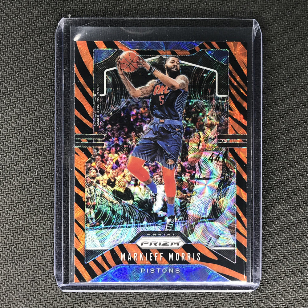 2019-20 Prizm Choice MARKIEFF MORRIS Tiger Prizm SSP #245-Cherry Collectables