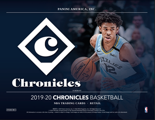 19-20 Chronicles Basketball Retail Blaster 20-Box Case Break #0507 - Random Team - Aug 27 (Night)-Cherry Collectables
