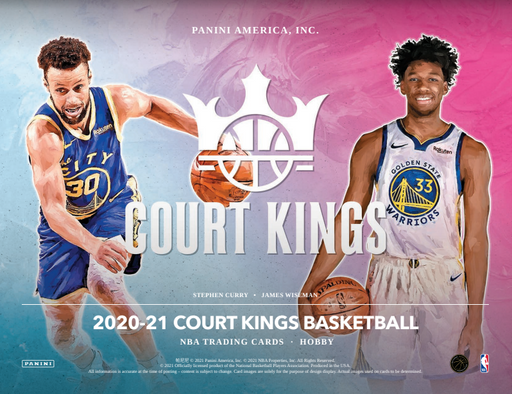 20-21 Court Kings 3-Box Break #2884 - Random Team - TBC-Cherry Collectables