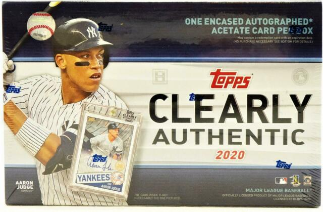 2020 Clearly Authentic Baseball 2-Box Break #0785 - Random Team - Sep 8 (LUNCH)-Cherry Collectables