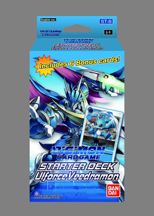 Digimon Card Game Series 06 Starter Deck 08 Ulforce Veedramon (Pre Order Oct)