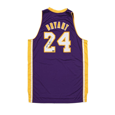 Kobe Bryant Panini Authentic Autographed Purple Adidas Swingman Jersey-Cherry Collectables