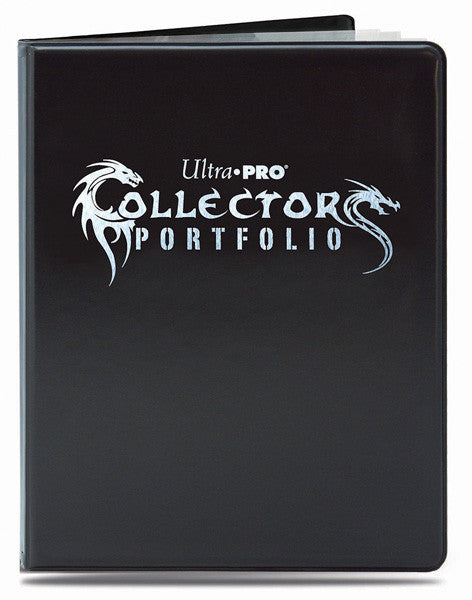 Ultra Pro 9 Pocket Gaming Collectors Folder - Black-Cherry Collectables