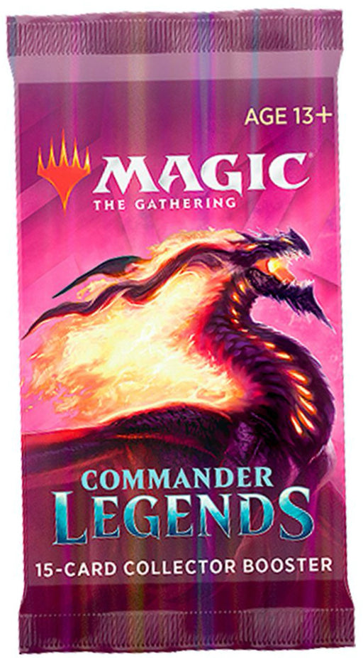 Magic the Gathering Commander Legends Collector Booster Pack-Cherry Collectables