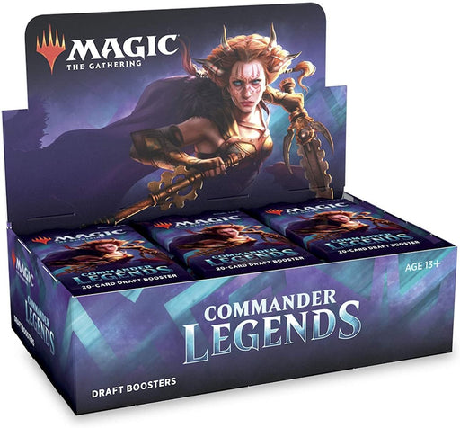 Magic the Gathering Commander Legends Draft Booster Box (Pre Order Nov 6)-Cherry Collectables