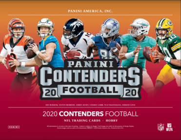 2020 Contenders NFL 2-Box Break #2018 (CHARGERS GIVEAWAY) - Team Based - Jan 25 (Night)-Cherry Collectables