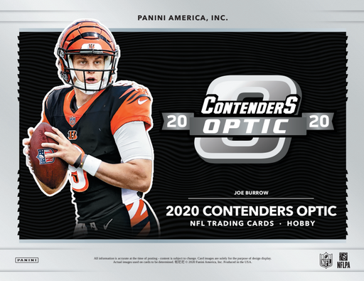 2020 Contenders Optic NFL 5-Box Break #1941 - Random Team - Mar 31 (5pm)-Cherry Collectables