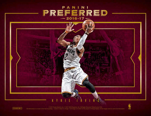 2016/17 Panini Preferred Basketball Hobby Box (Pre Order Aug 23)-Cherry Collectables