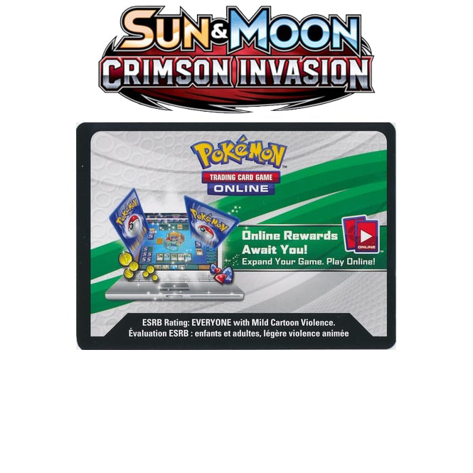 Crimson Invasion Lot of 36 Unused Booster Pack Codes (Pokemon)-Cherry Collectables
