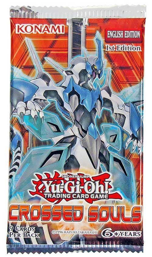 Yu-Gi-Oh! Crossed Souls Booster Pack-Cherry Collectables