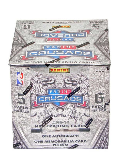 2013/14 Panini Crusade Basketball Hobby Box-Cherry Collectables