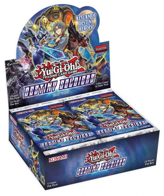 Yu-Gi-Oh! TCG Destiny Soldiers Booster Pack-Cherry Collectables