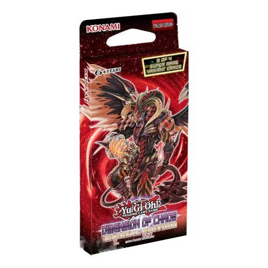 Yu-Gi-Oh! Dimension of Chaos Advance Edition Booster Pack-Cherry Collectables
