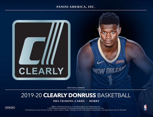 19-20 Clearly Donruss NBA 12-Box Break #0880 - Random Team - Oct 28 (Night)-Cherry Collectables
