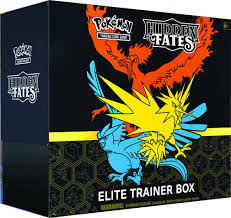 Pokemon TCG Hidden Fates Elite Trainer Box-Cherry Collectables