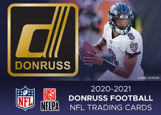 20 Donruss Retail NFL 20-Blaster Case Break #0272 - Random Team - DATE TBC (Night)-Cherry Collectables
