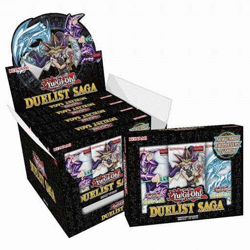 Yu-Gi-Oh! Duelist Saga Collection Box (5 x Mini Boxes)-Cherry Collectables