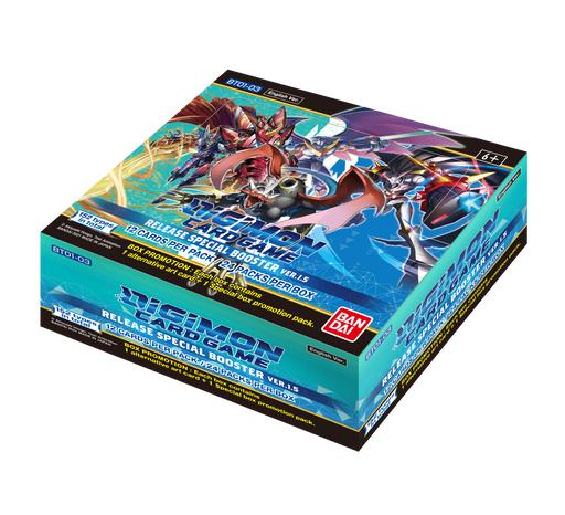 Digimon Card Game Series 01 Special Booster Box Version 1.5-Cherry Collectables