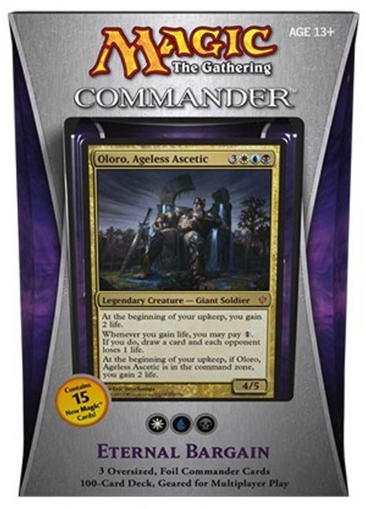 Magic the Gathering Commander Deck (2013) - Eternal Bargain-Cherry Collectables